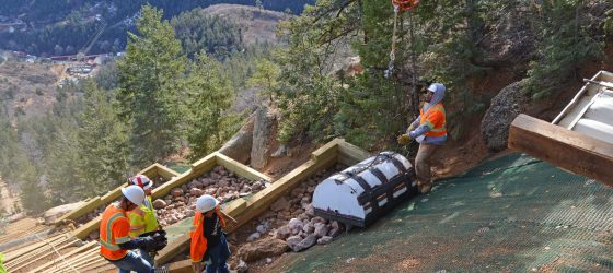 Rebuilding the Manitou Incline